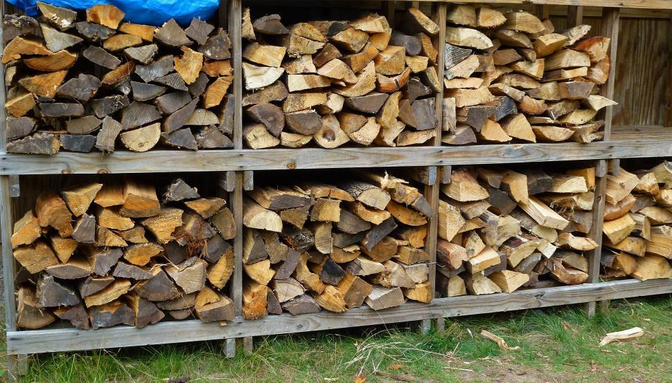Download Free Stock Photo of Split Logs
