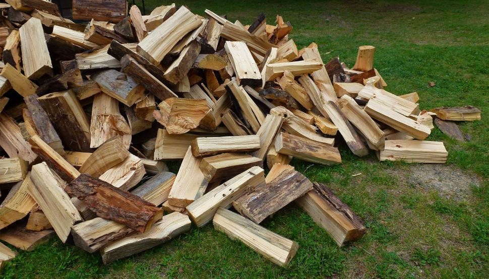 Download Free Stock HD Photo of Split Logs Online