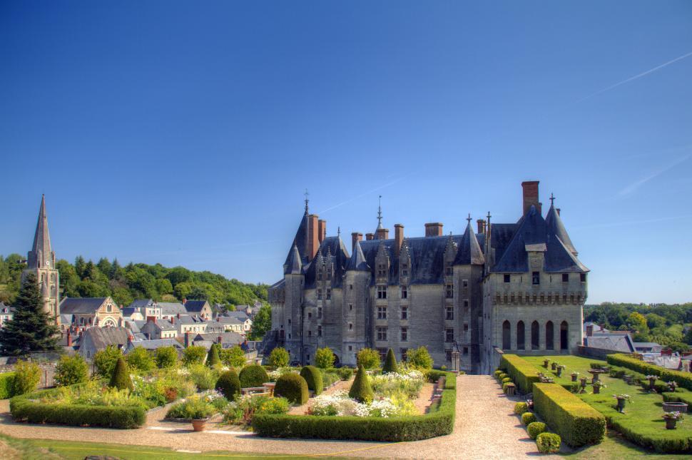 Download Free Stock Photo of Chateau de Langeais