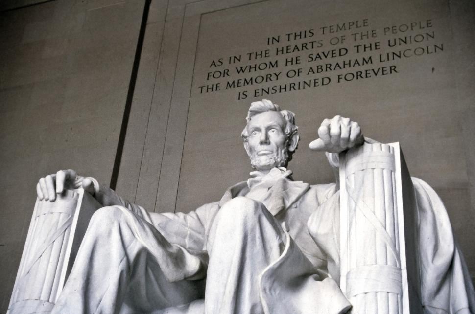 Download Free Stock Photo of Statue of Lincoln at the Lincoln Memorial