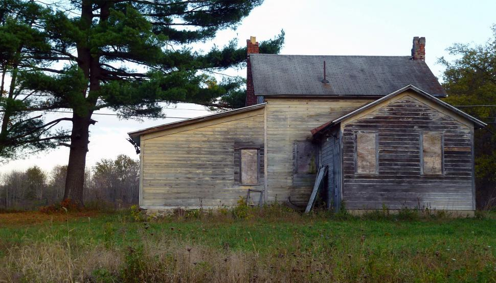 Download Free Stock Photo of Neglected House