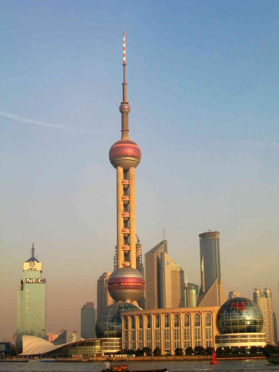Download Free Stock Photo of shanghai skyline
