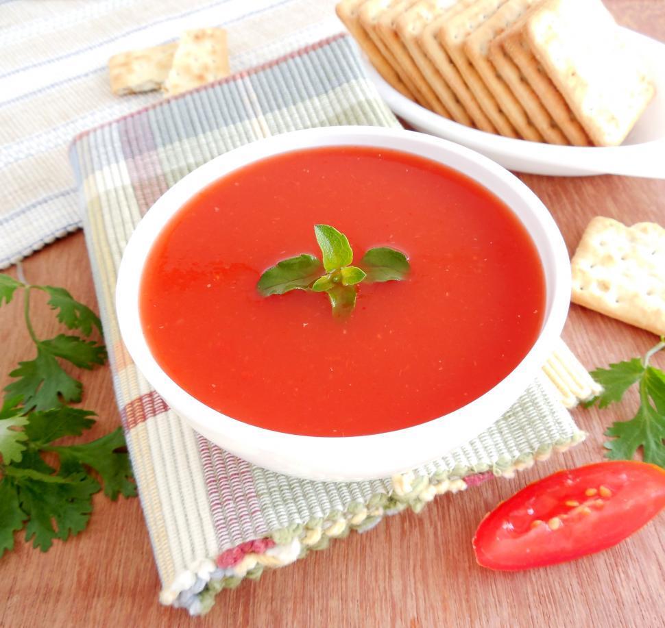 Download Free Stock Photo of Tomato Soup
