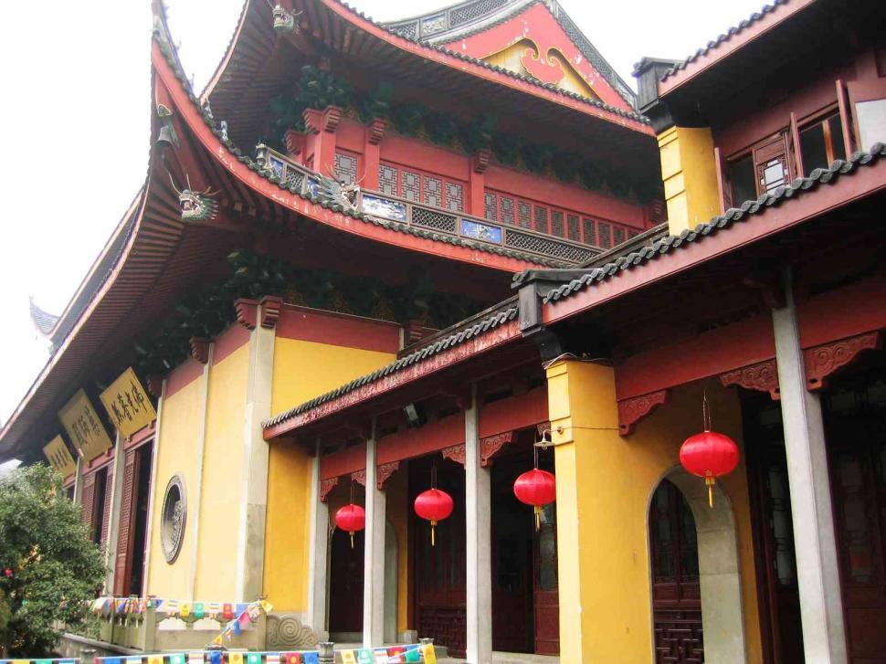 Download Free Stock Photo of Chinese temple