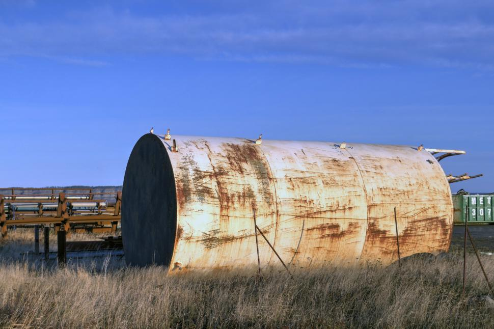 Download Free Stock HD Photo of Oil storage tank Online