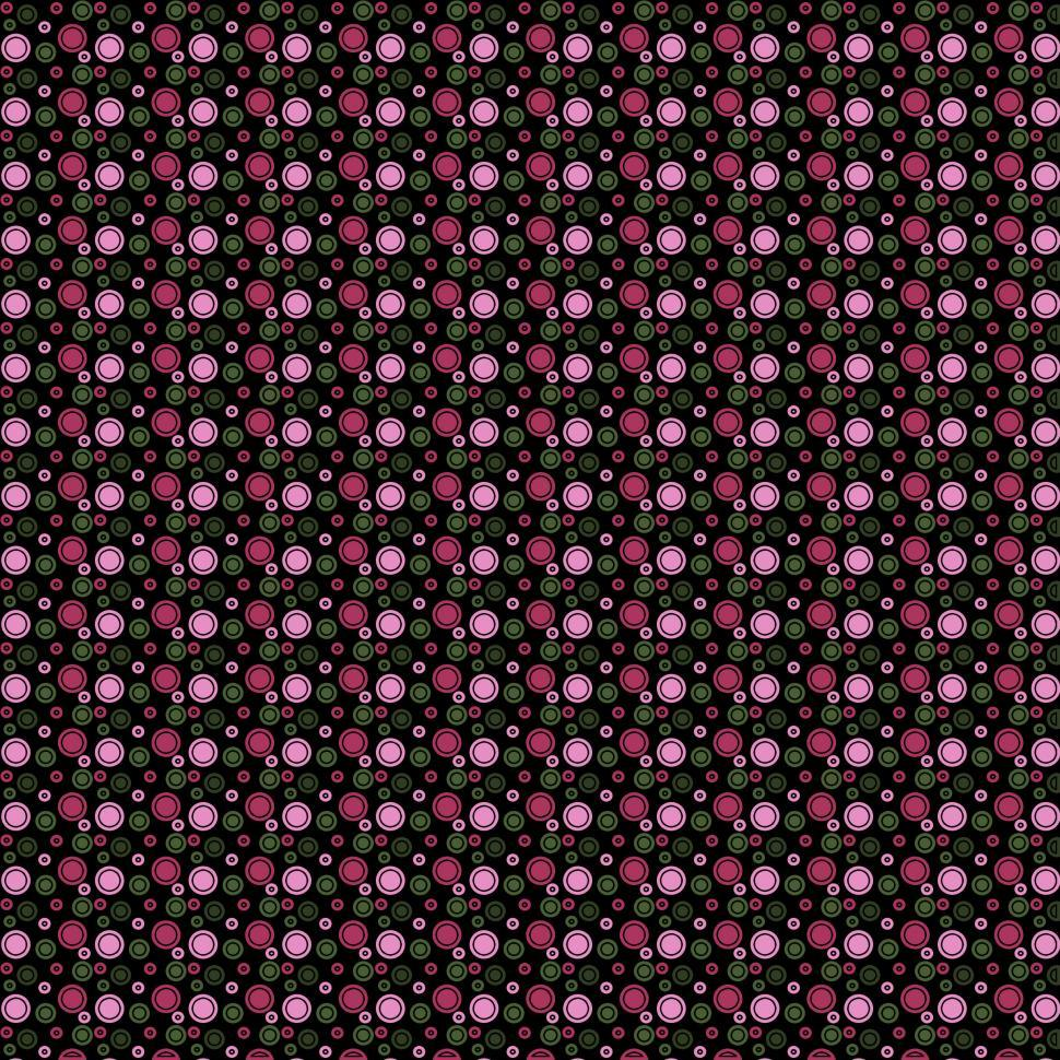 Download Free Stock Photo of Green and Pink Dots on Black Background