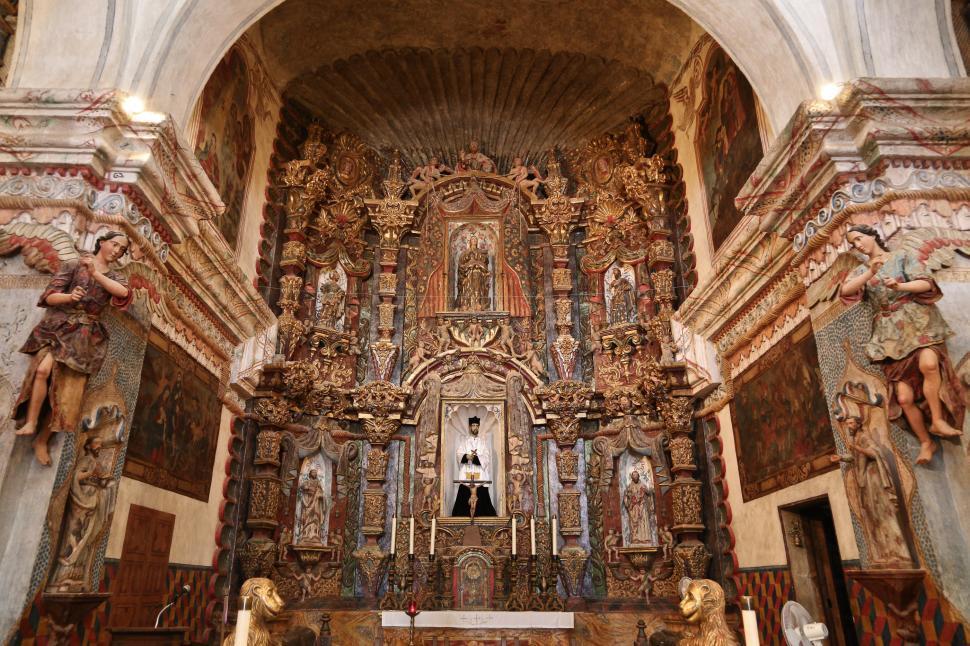 Download Free Stock Photo of San Xavier altar