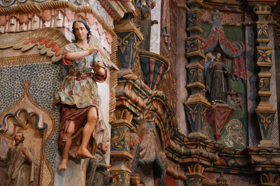 Download Free Stock HD Photo of Figures at San Xavier Online