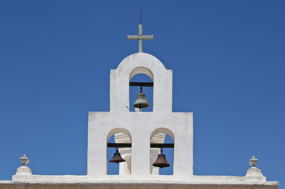 Download Free Stock Photo of Bells at San Xavier