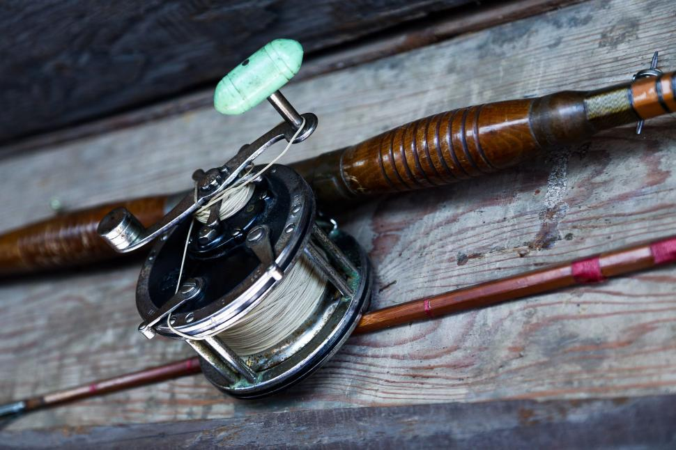 Download Free Stock HD Photo of Fishing reel Online