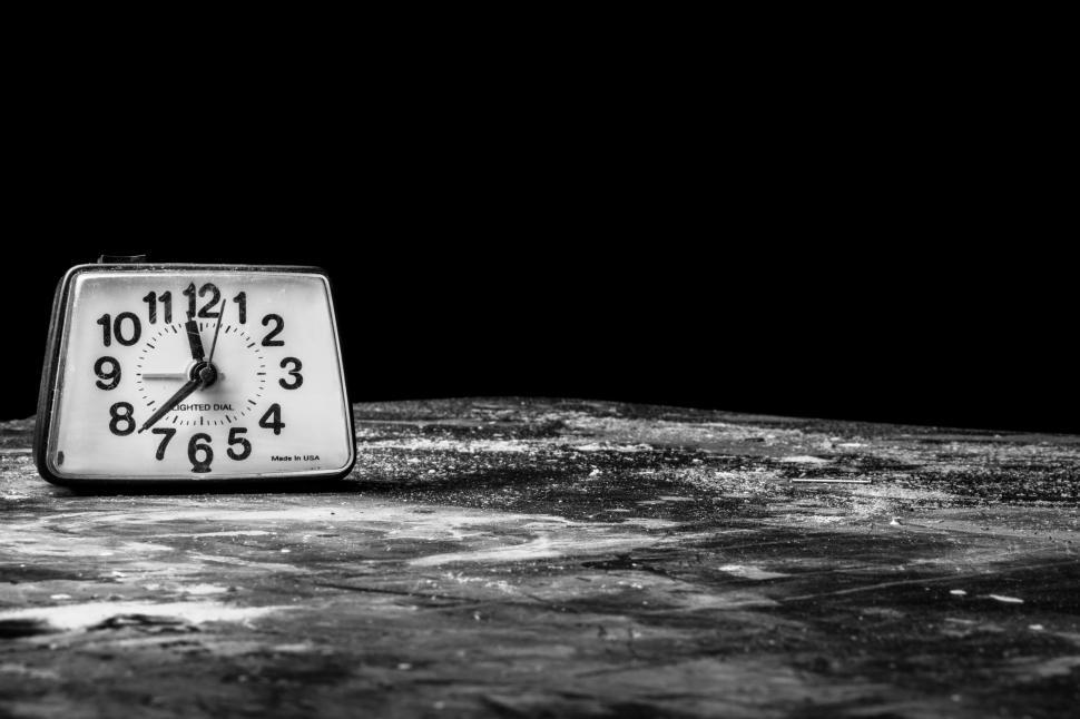 Download Free Stock Photo of Table Clock