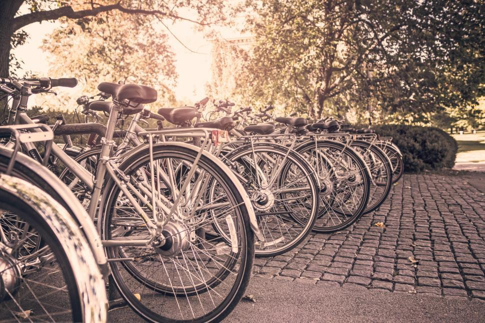 Download Free Stock HD Photo of Bicycle Stand Online
