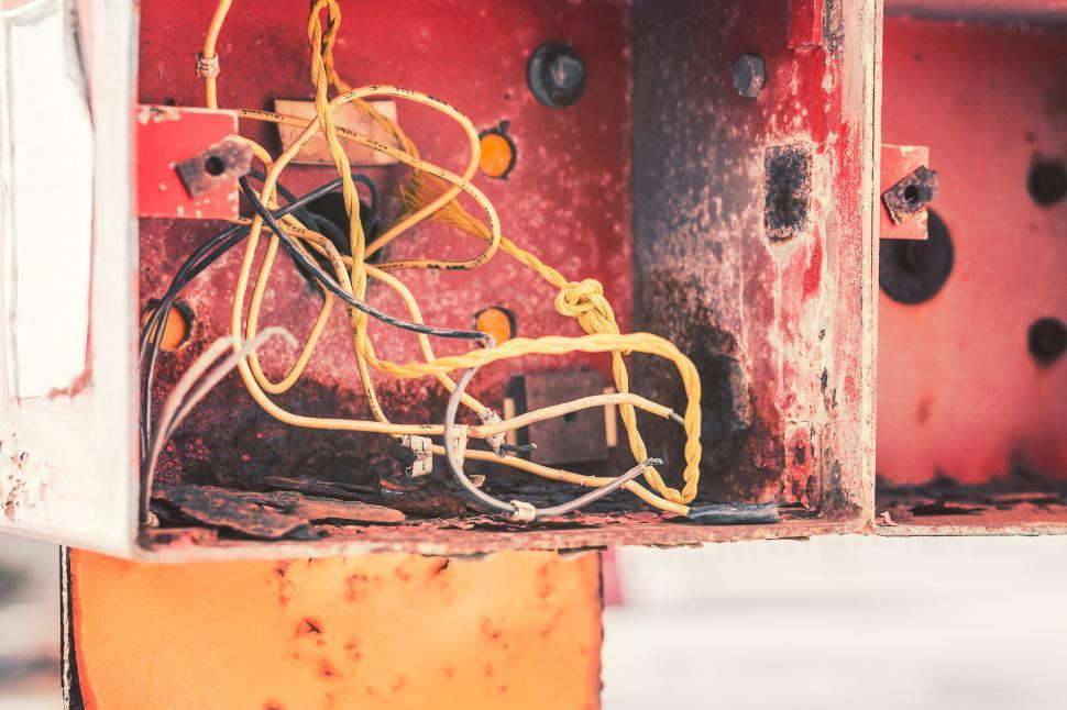 Download Free Stock HD Photo of Wires Online