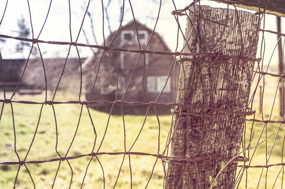 Download Free Stock HD Photo of Grid fence Online
