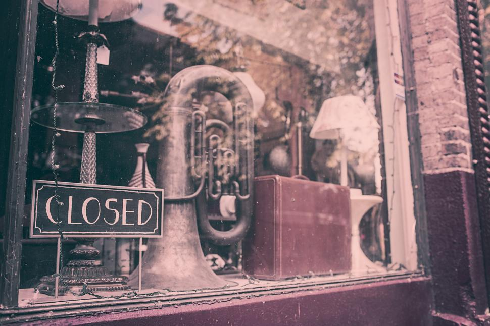 Download Free Stock HD Photo of Ecclecit shop window Online