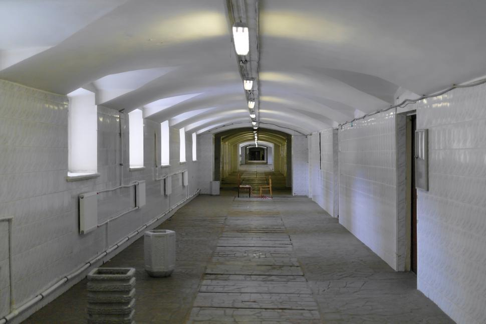 Download Free Stock Photo of Arched corridor