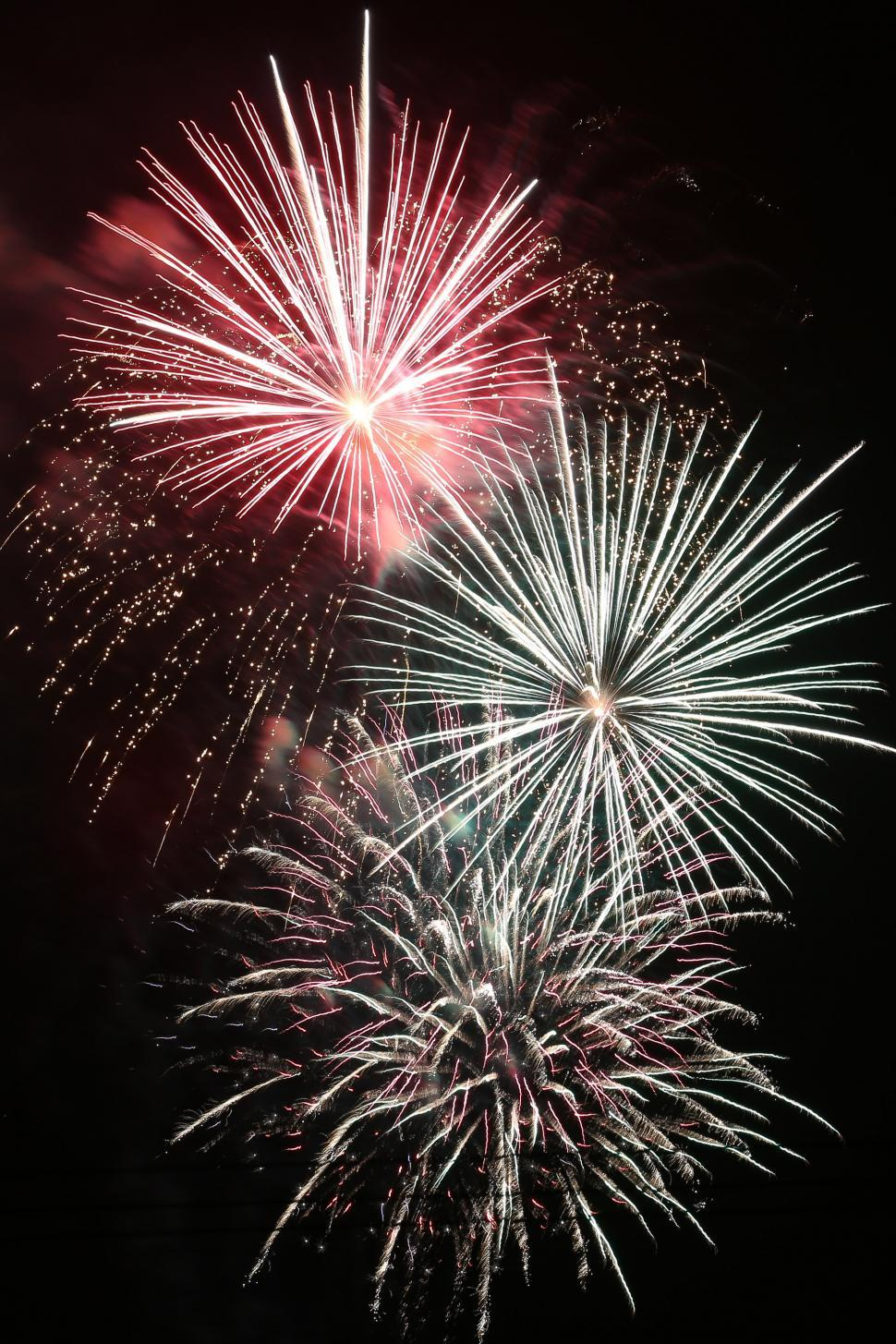 Download Free Stock HD Photo of Fireworks in sky Online