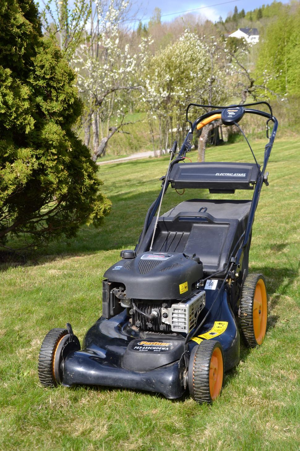 Download Free Stock HD Photo of Modern Lawn mower Online