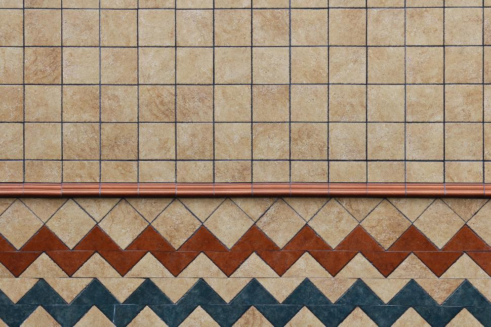 Download Free Stock HD Photo of Tiles on wall Online