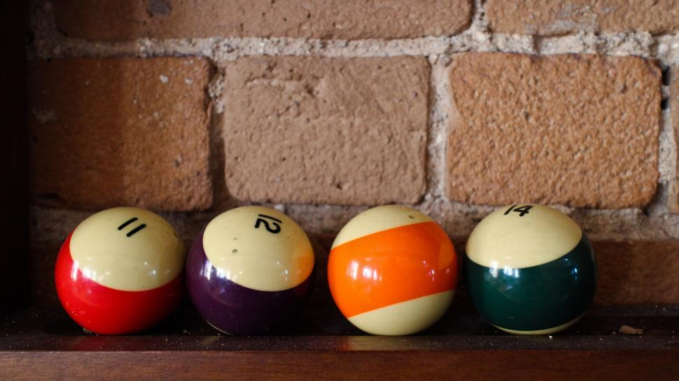 Download Free Stock HD Photo of Pool balls Online