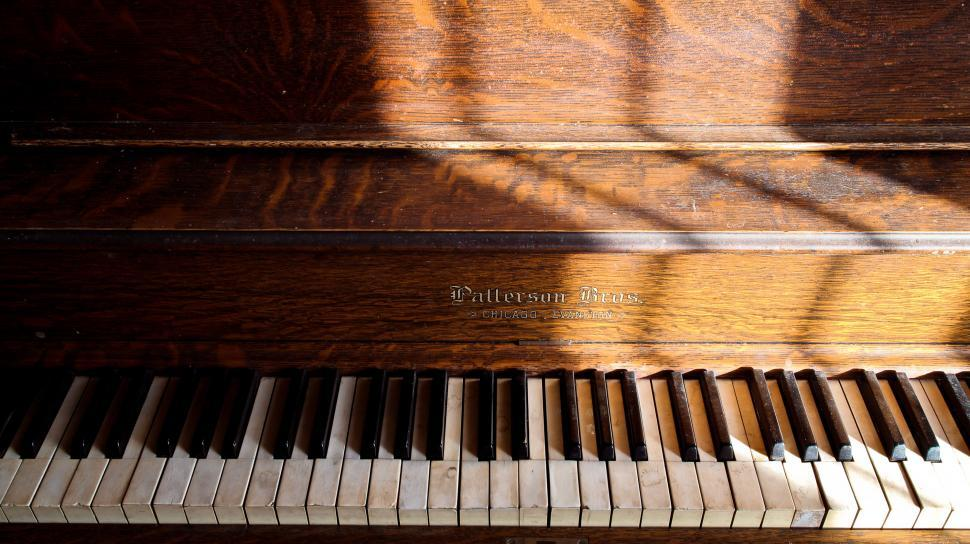 Download Free Stock HD Photo of Wooden Piano Online