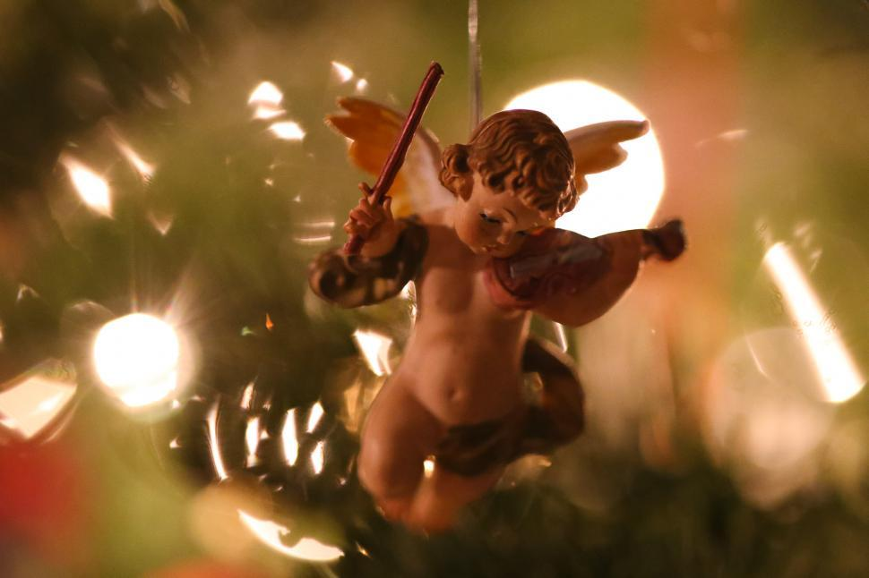 Download Free Stock HD Photo of Christmas Angel Online