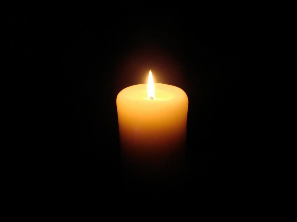 Download Free Stock Photo of Lit Candle