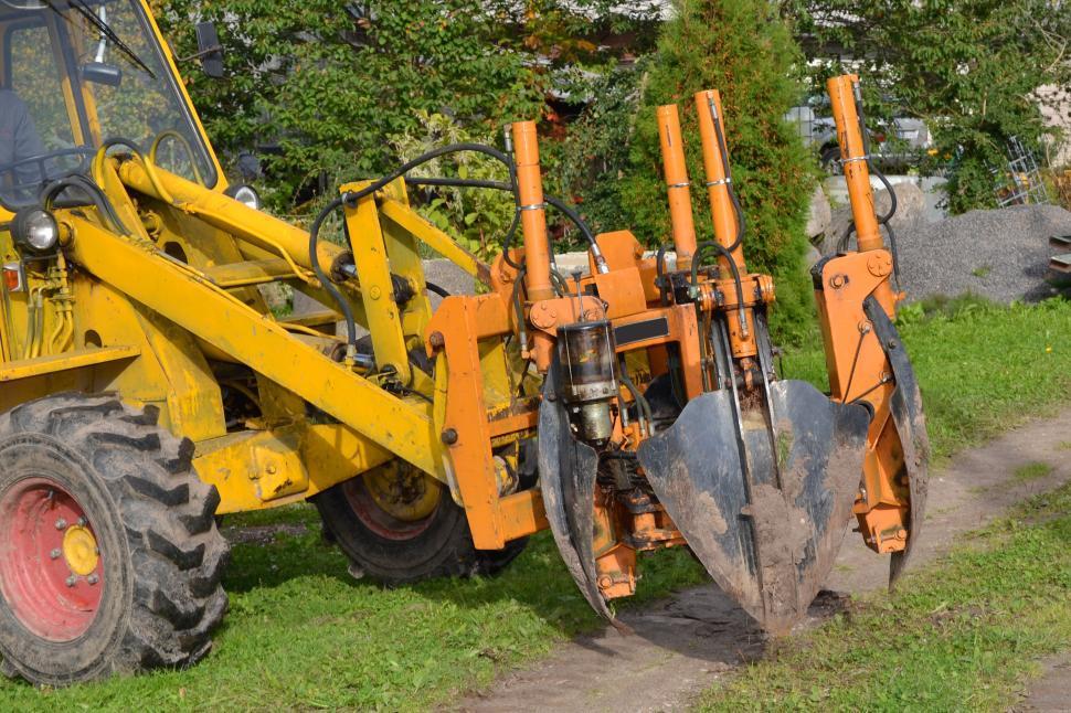 Download Free Stock Photo of Tree transplanting spades