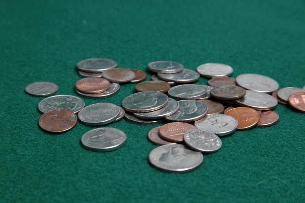 Download Free Stock HD Photo of Pile of coins Online