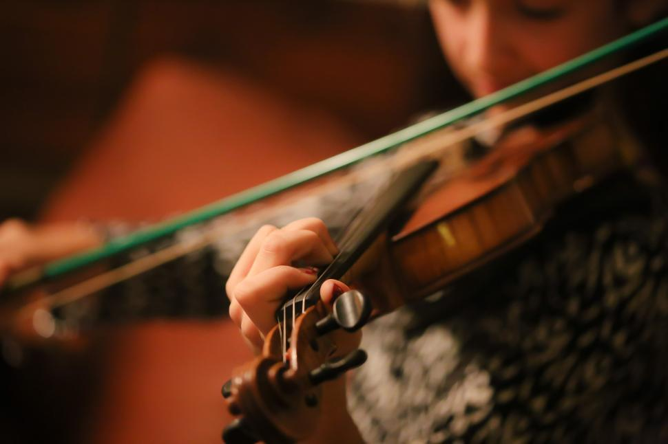 Download Free Stock HD Photo of Violinist fingers Online