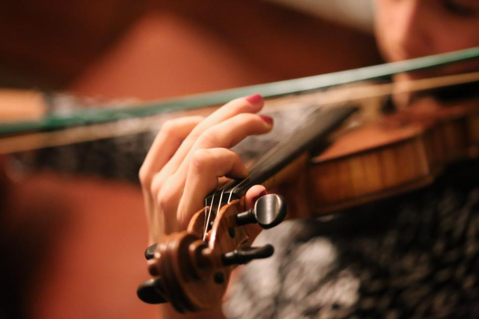 Download Free Stock HD Photo of Female Violinist Online