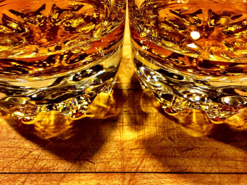 Download Free Stock HD Photo of Glasses of whiskey Online
