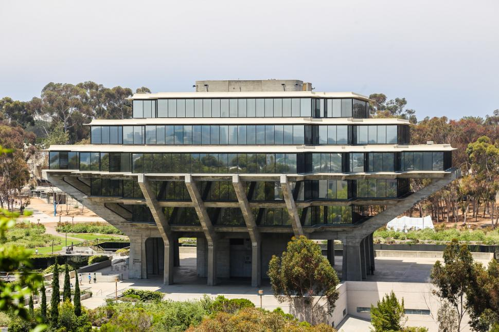 Download Free Stock HD Photo of Geisel Library Online