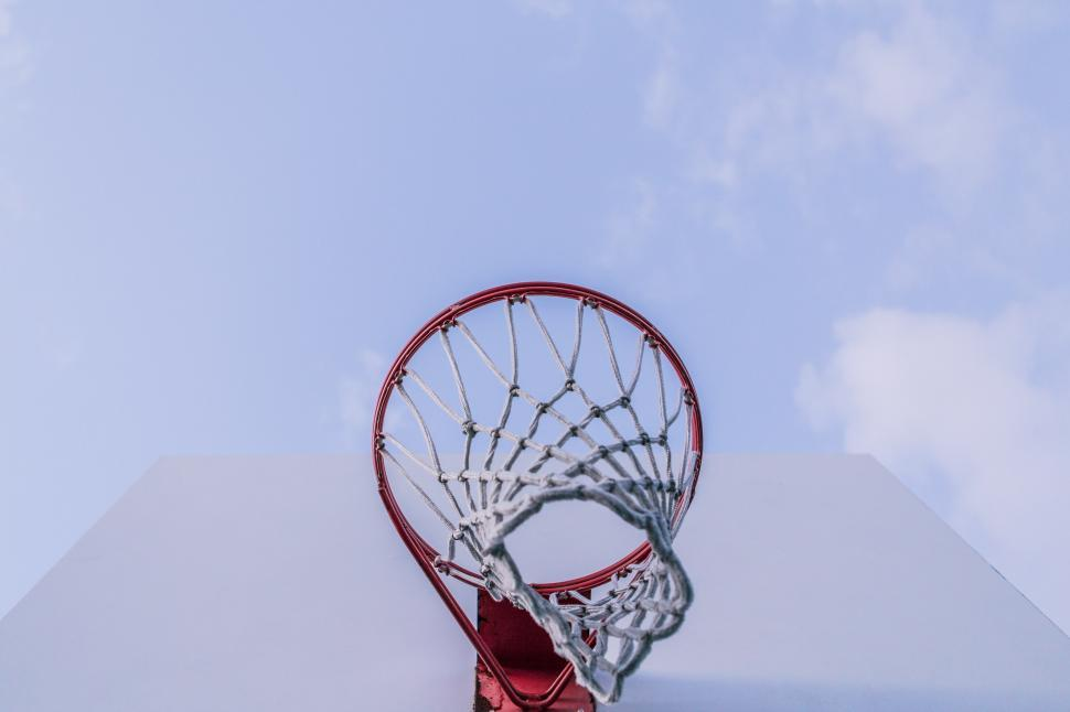 Download Free Stock Photo of Basketball Rim
