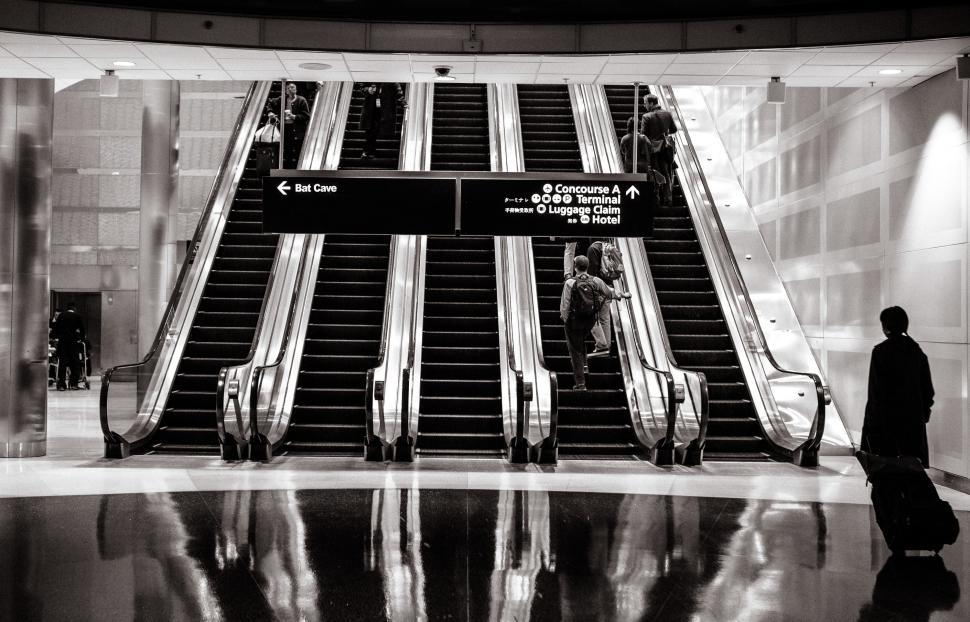 Download Free Stock HD Photo of Escalators Online