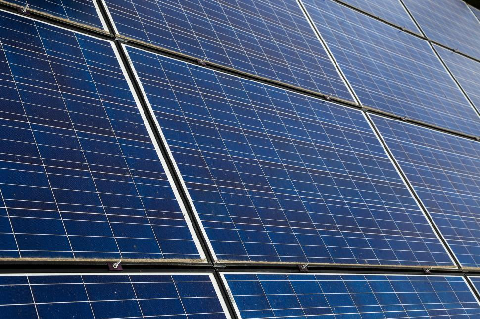 Download Free Stock HD Photo of Close-up of Solar panels Online