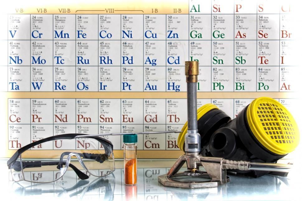 Download Free Stock Photo of Chemical Science