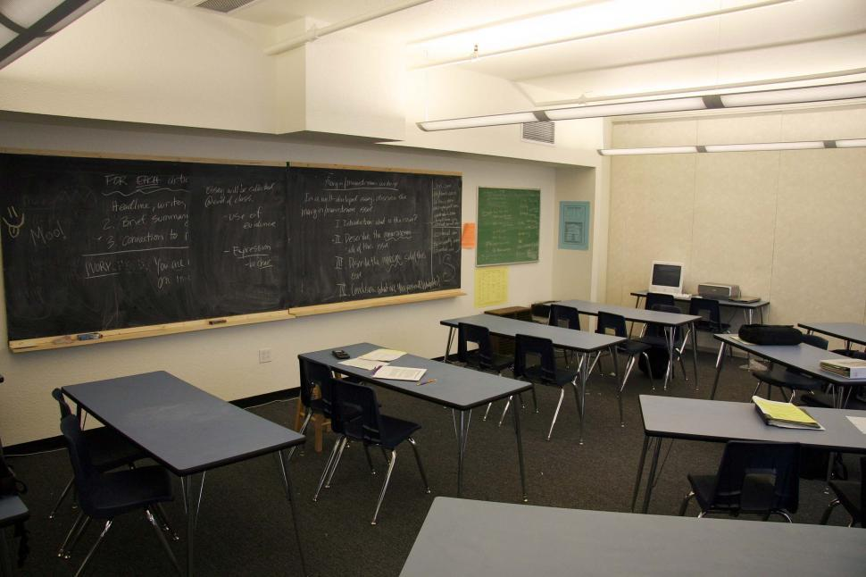 Download Free Stock HD Photo of School classroom Online