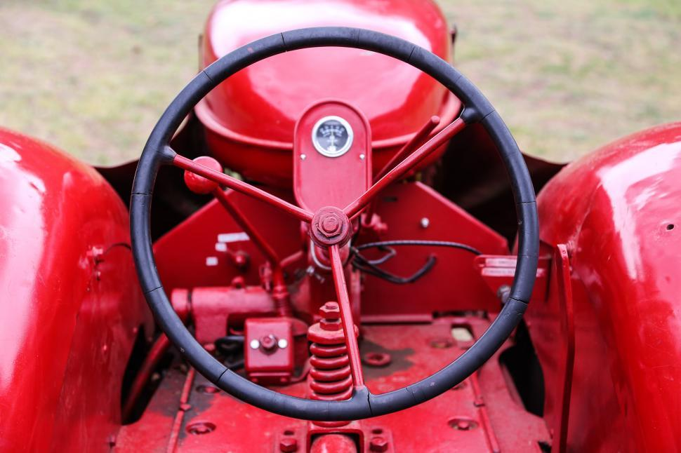 Download Free Stock Photo of Restored tractor