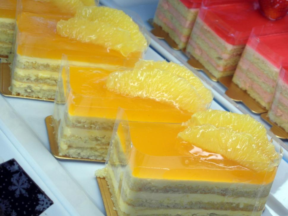 Download Free Stock Photo of Lemon Fruity Cakes