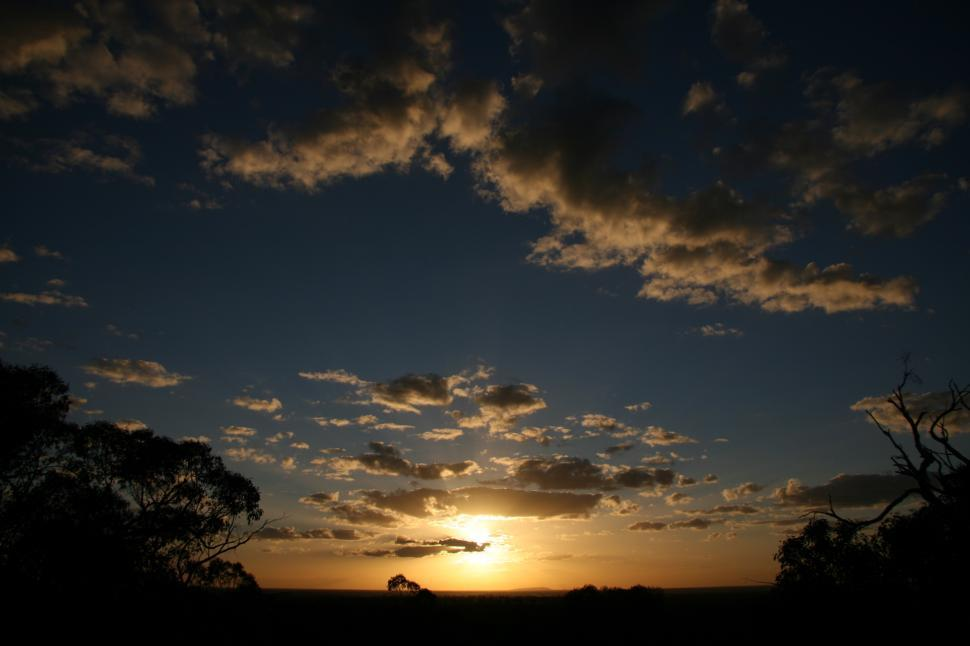 Download Free Stock HD Photo of sunset in Australia Online