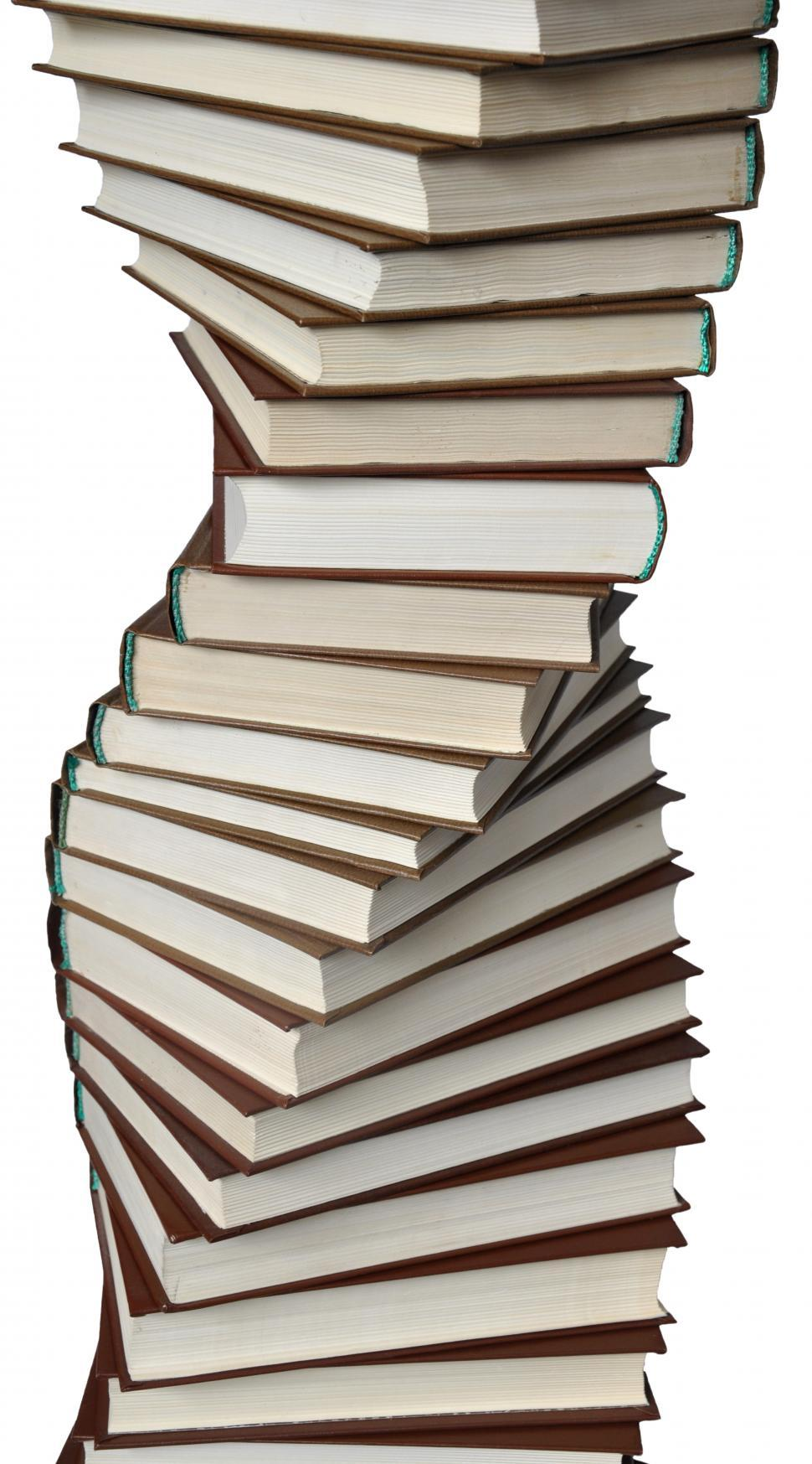 Download Free Stock HD Photo of Spiral of books Online