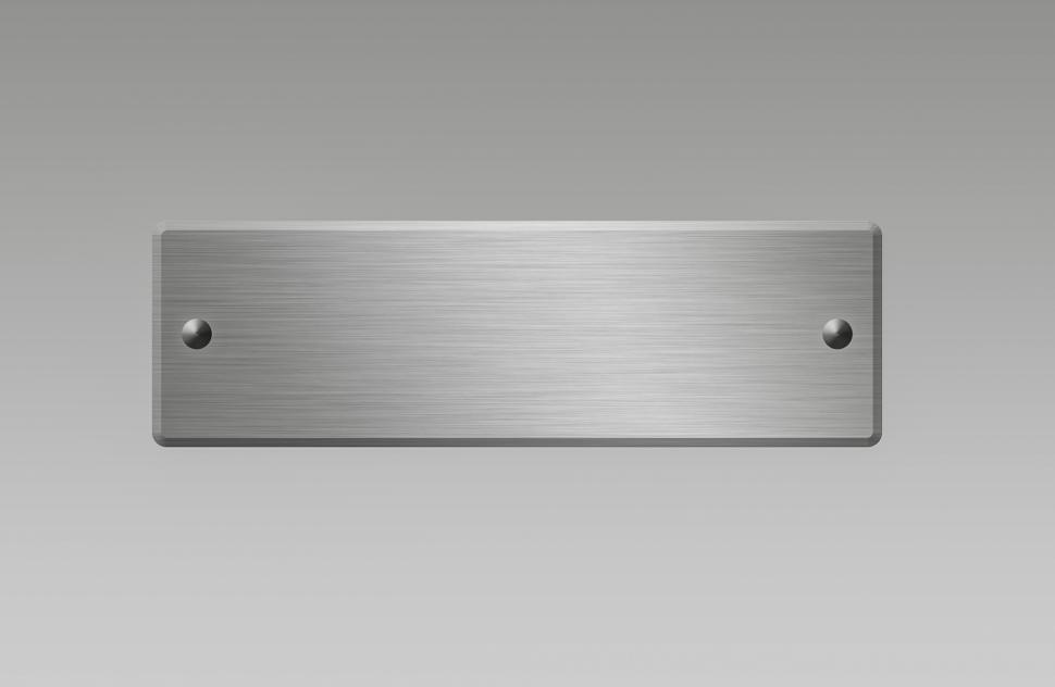 Download Free Stock Photo of Metal plate