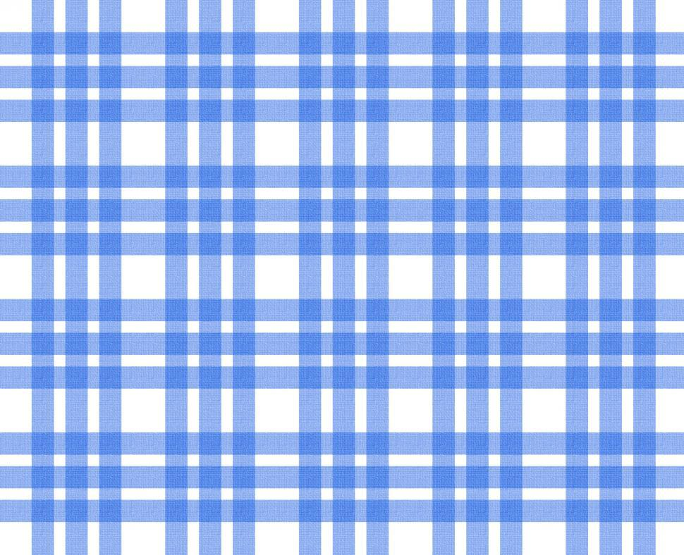 Download Free Stock HD Photo of Blue and white tablecloth pattern Online