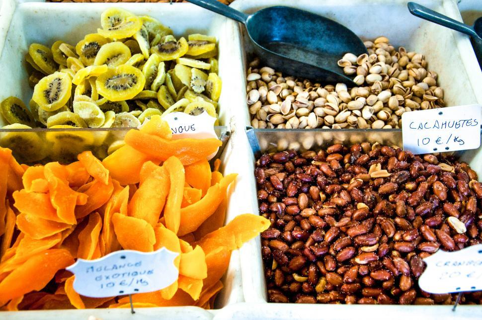 Download Free Stock HD Photo of Dried fruits and nuts Online