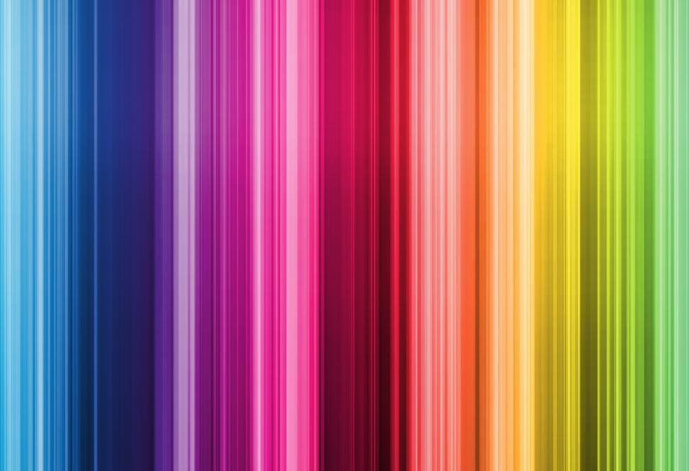 Download Free Stock Photo of Rainbow stripes wallpaper