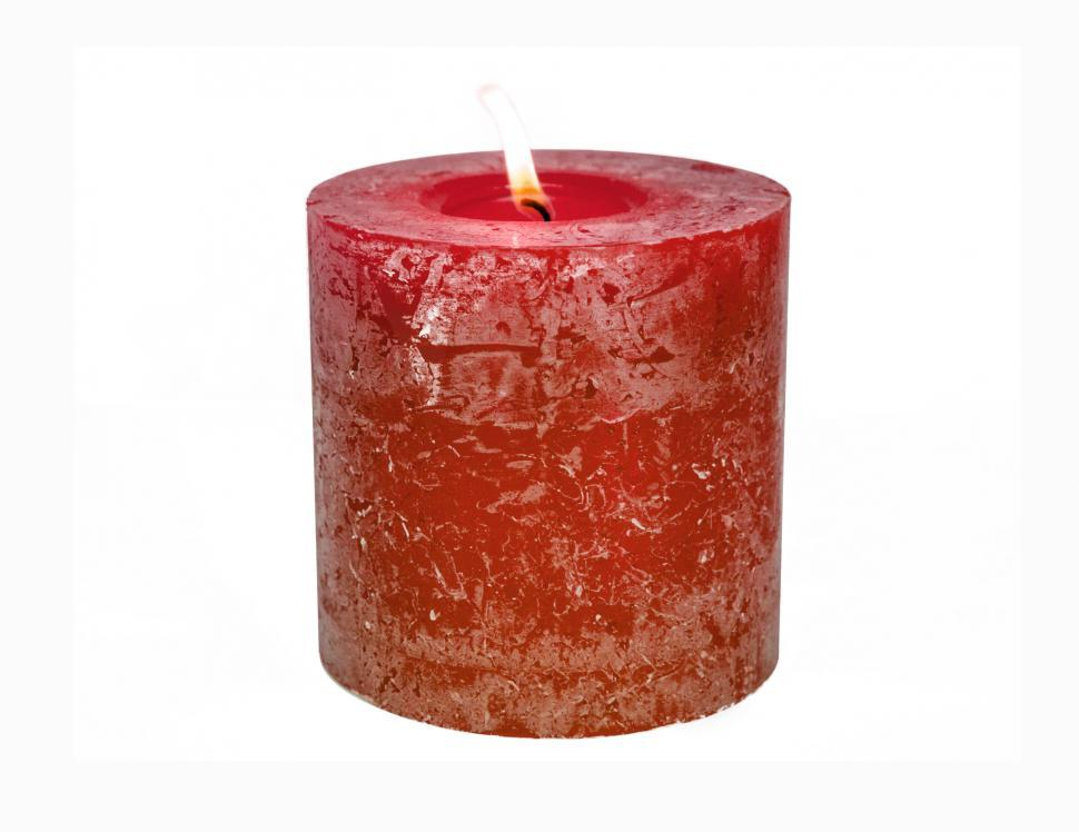 Download Free Stock HD Photo of Red candle Online
