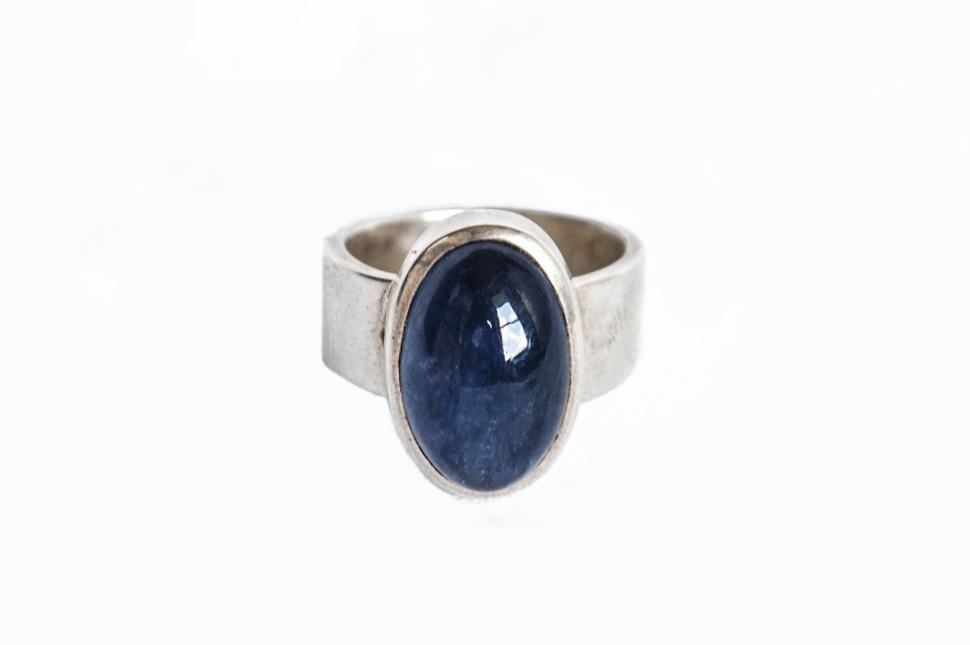 Download Free Stock Photo of blue stone ring jewelry