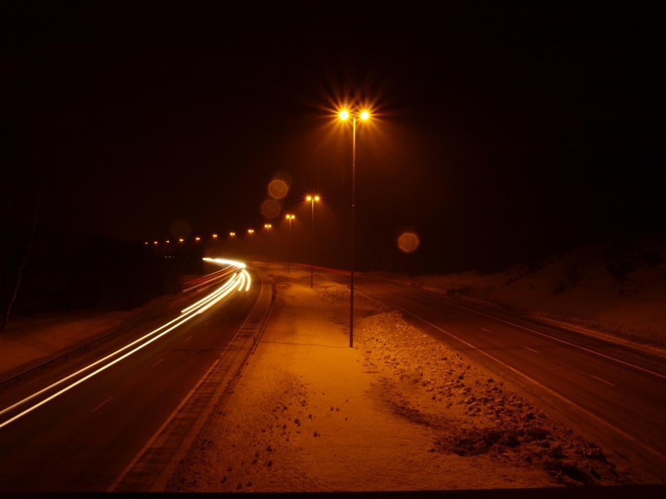 Download Free Stock Photo of Dark road