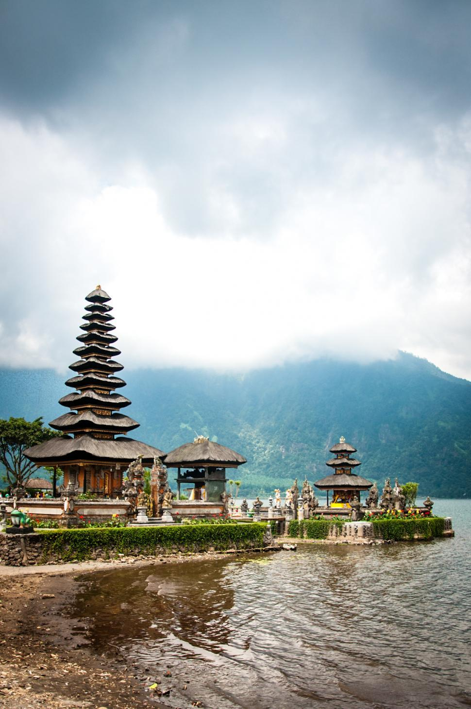 Download Free Stock HD Photo of Pura Ulun Danu temple in bali Online